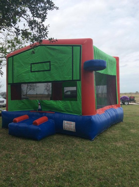 Panel bounce house *Green*