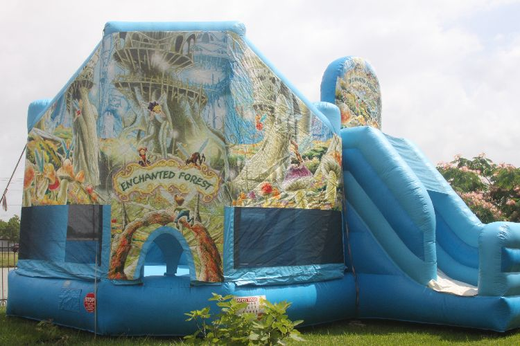 Enchanted Forest Bounce House