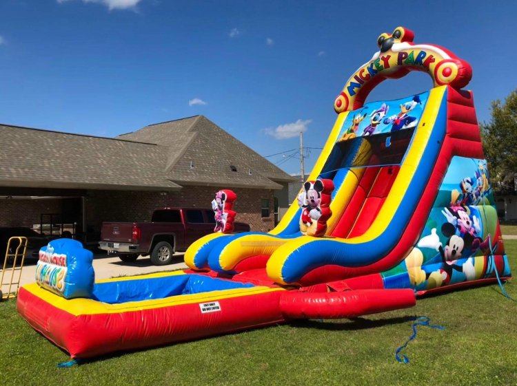 15ft Mickey Mouse Slide