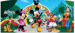 mickey mouse club house panel